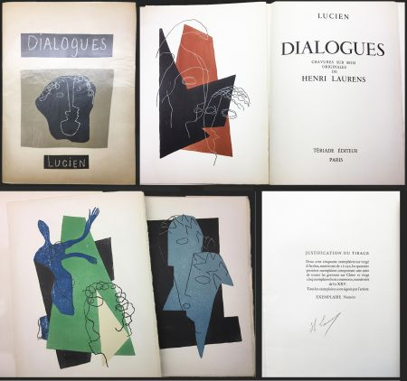挿絵入り本 Laurens - Lucien de Samosate - DIALOGUES. 32 bois gravés en couleurs (Tériade 1951).