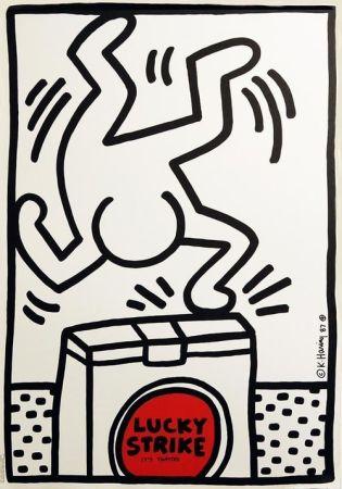 オフセット Haring - Lucky Strike (White)