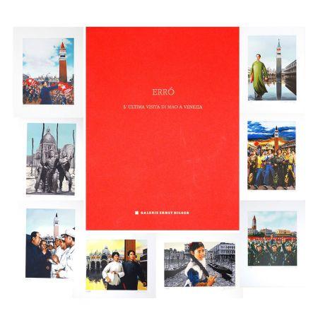リトグラフ Erro - L'ultima visita di  Mao a Venezia - complete portfolio