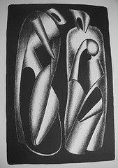 リトグラフ Archipenko - Luminositè des formes (Les formes vivantes)
