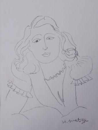 彫版 Matisse - Lydia