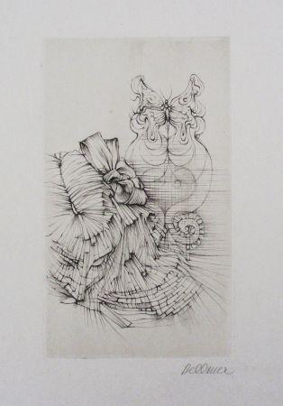 エッチングと アクチアント Bellmer - Métamorphose (Papillon)
