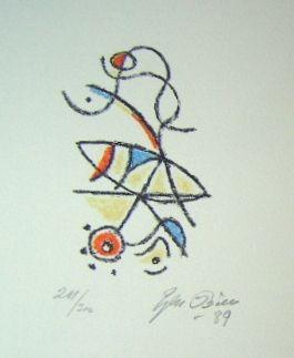 リトグラフ Bille - M 86