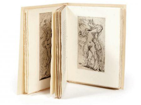 挿絵入り本 Masson - M. Jouhandeau : XIMENÈS MALINJOUDE. Illustré d'eaux-fortes par André Masson (1927).