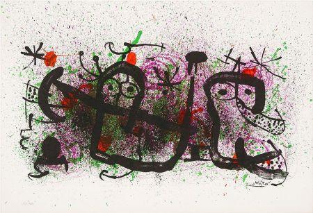 リトグラフ Miró - Ma de Proverbis