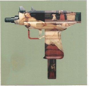 シルクスクリーン Gjoen - Machine Gun Venus