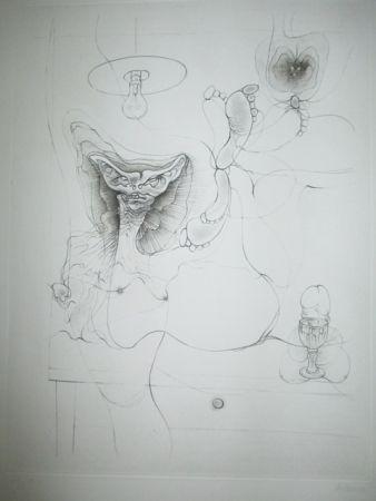 彫版 Bellmer - Madame Et Servoi
