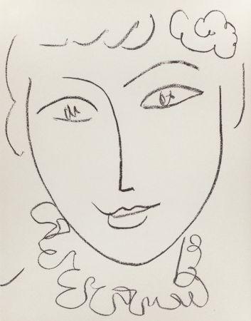 リトグラフ Matisse - Madame Pompadour