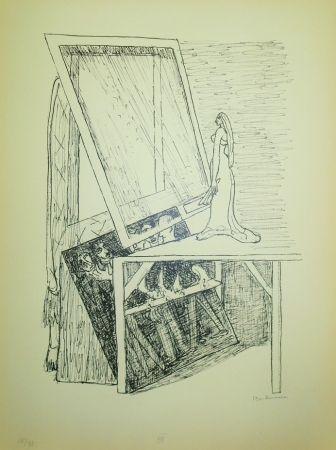 リトグラフ Beckmann - Magic Mirror