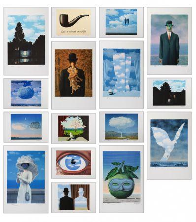 リトグラフ Magritte - Magritte Lithographies Vi