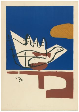 リトグラフ Le Corbusier - Main ouverte (hand-signed & numbered)