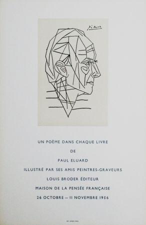 掲示 Picasso - '' Maison de la Pensée Francaise ''