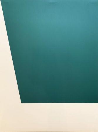 リトグラフ Kelly - Mallarmé Suite: Green