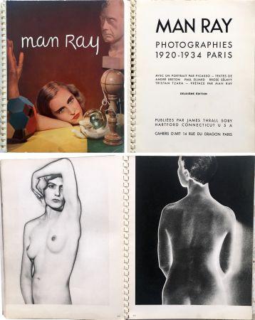 挿絵入り本 Ray - MAN RAY PHOTOGRAPHIES 1920-1934.