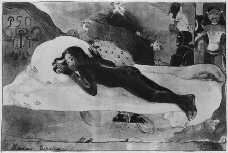 リトグラフ Gauguin - Manao Tupapau