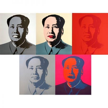 シルクスクリーン Warhol (After) - Mao - Portfolio