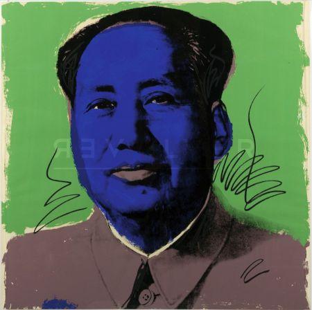 シルクスクリーン Warhol - Mao (Fs Ii.90)