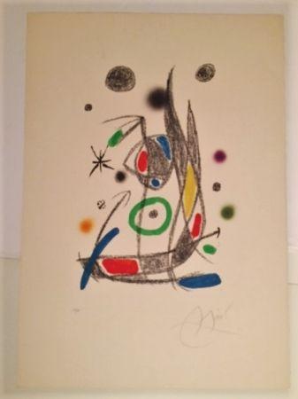 リトグラフ Miró - Maravillas con Varaciones Acrosticas