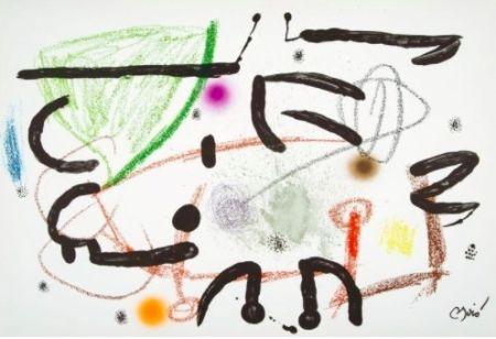 リトグラフ Miró - Maravillas con variaciones acrosticas 15
