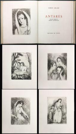 挿絵入り本 Laurencin - Marcel Arland : ANTARES. Exemplaire avec suite (1944).