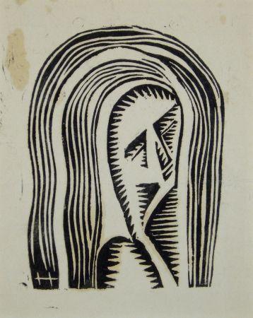 木版 Hofman - Maria