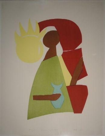 木版 Gehr - Maria Magdalena