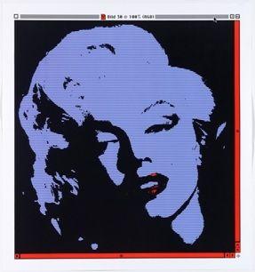 リトグラフ Pusenkoff - Marilyn // 30