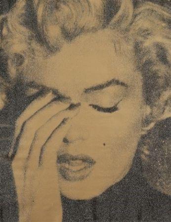 シルクスクリーン Young - Marilyn Crying