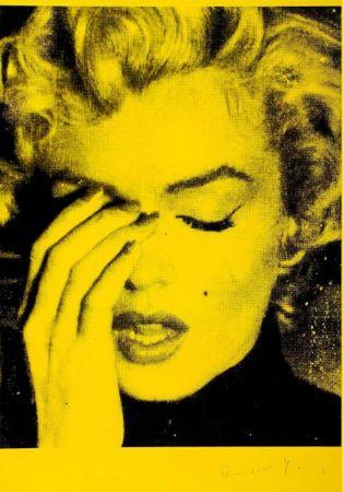 多数の Young - Marilyn Crying (Mulholland Yellow)