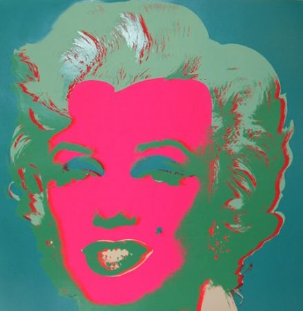 リトグラフ Warhol - Marilyn FS II.30