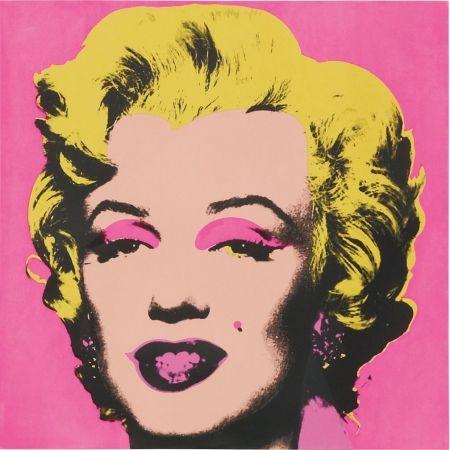 シルクスクリーン Warhol - Marilyn FS.II.31