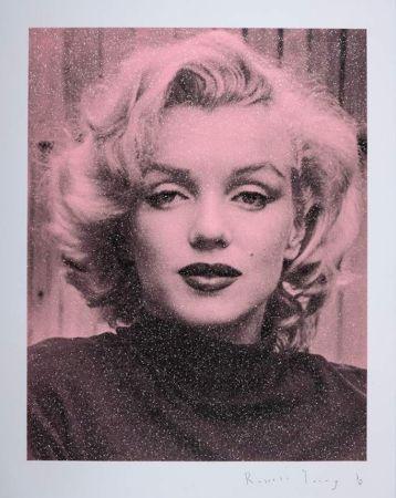 シルクスクリーン Young - Marilyn Hollywood - Superstar Pink