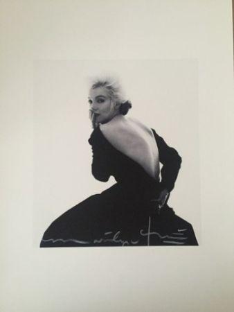 写真 Stern - Marilyn in Famous Black Dress (1962)