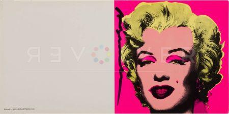 シルクスクリーン Warhol - Marilyn Invitation (Castelli Graphics)