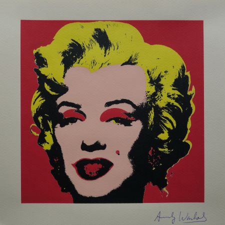 シルクスクリーン Warhol (After) - Marilyn Monroe