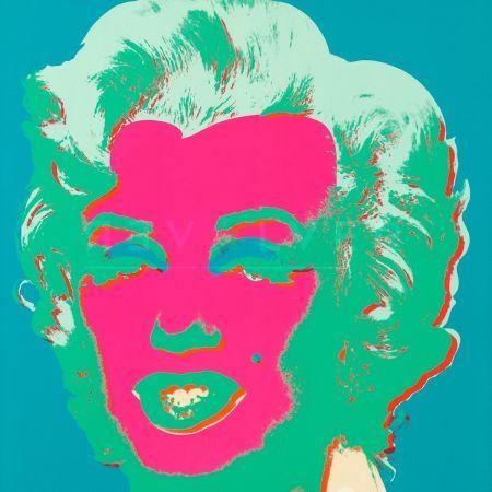 シルクスクリーン Warhol - Marilyn Monroe (Fs Ii.30)