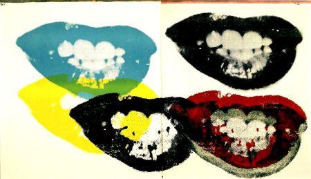 シルクスクリーン Warhol - Marilyn Monroe I Love Your Kiss Forever Forever (FS II.5)