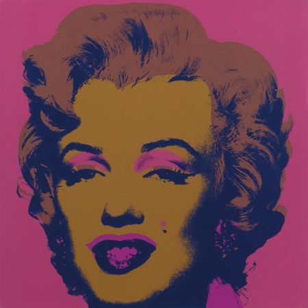 シルクスクリーン Warhol - Marilyn Monroe (Marilyn) (FS II.27)