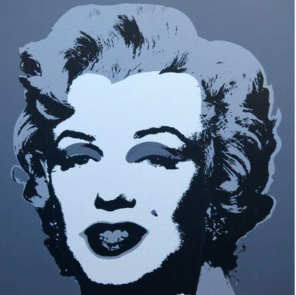 リトグラフ Warhol (After) - Marilyn No 24, Sunday B Morning (after Andy Warhol)