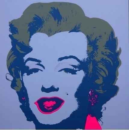 リトグラフ Warhol (After) - Marilyn No 26, Sunday B Morning (after Andy Warhol)