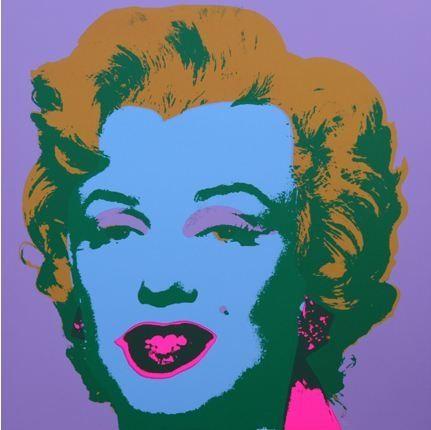 リトグラフ Warhol (After) - Marilyn No 28, Sunday B Morning (after Andy Warhol)