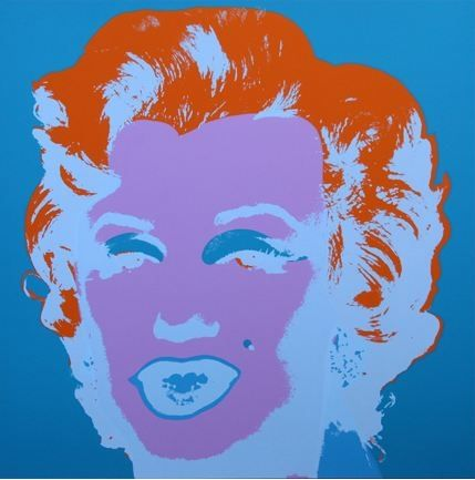 リトグラフ Warhol (After) - Marilyn No 29, Sunday B Morning (after Andy Warhol)