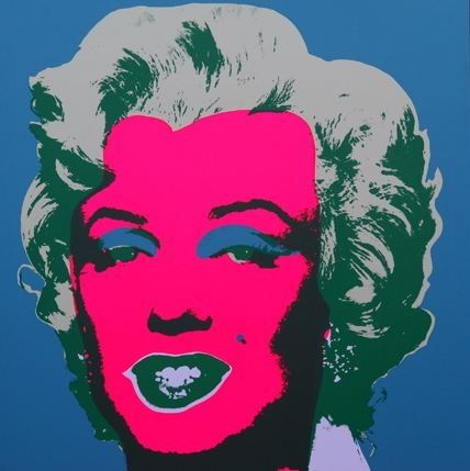 リトグラフ Warhol (After) - Marilyn No 30, Sunday B Morning (after Andy Warhol)