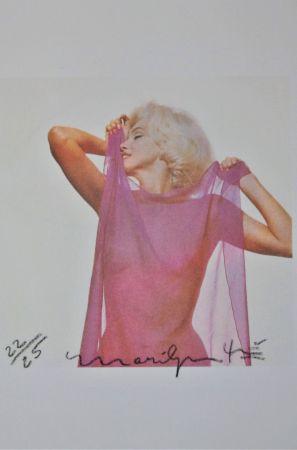 写真 Stern - Marilyn: Pink Scarf