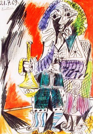 リトグラフ Picasso - Marlborough - Saidenberg , New York  Huge