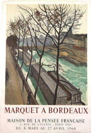 リトグラフ Marquet - Marquet à Bordeaux