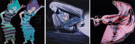 シルクスクリーン Warhol - Martha Graham Complete Portfolio (Fs Ii.387-389)