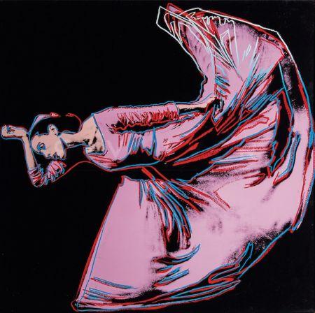 シルクスクリーン Warhol - Martha Graham, Letter to the World (The Kick) (FS II.389)