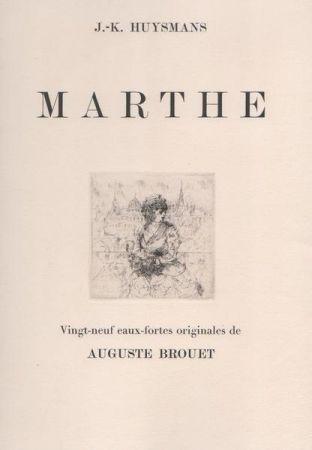 エッチング Brouet - Marthe
