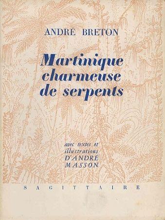 挿絵入り本 Masson - Martinique charmeuse de serpents
